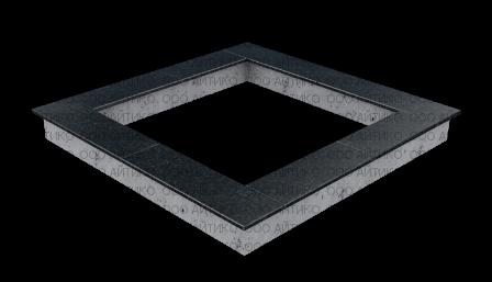 Цоколь №2 (с укладкой плитки)